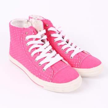 Dámské kotníkové tenisky Mixer růžové