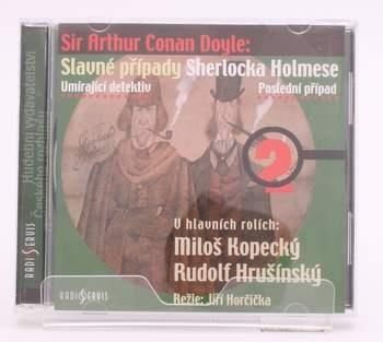 Audiokniha A. C. Doyle Slavné příběhy S. Holmese