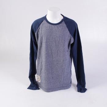Chlapecké tričko TCM modré dlouhý rukáv