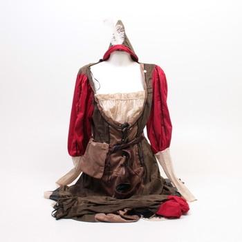 Dámský kostým Lady Marian B07MW31T9V
