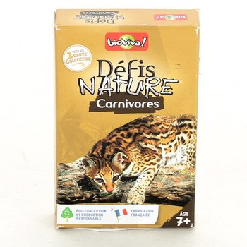 Rodinná hra BioViva Defis Nature Carnivores