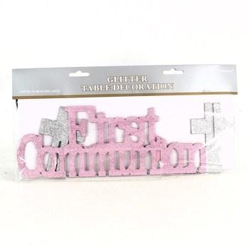 Dekorace na stůl Amscan First Communion