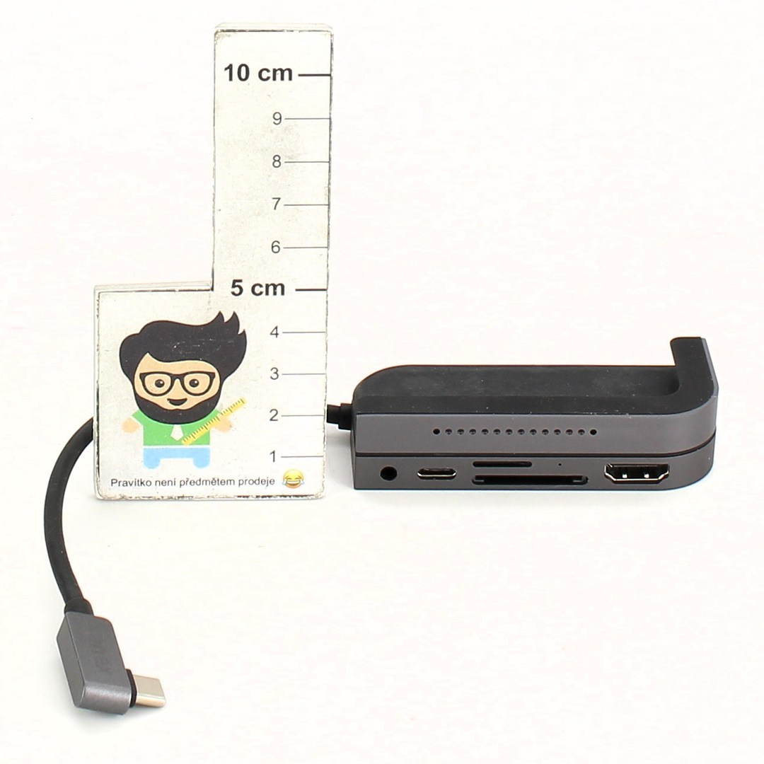 Adaptér Kanex 3,5mm Multiport USB Typ C