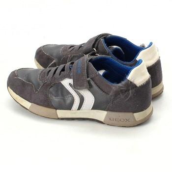 Dětské botasky Geox Respira kůže