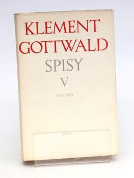 Kniha Klement Gottwald: Spisy V.