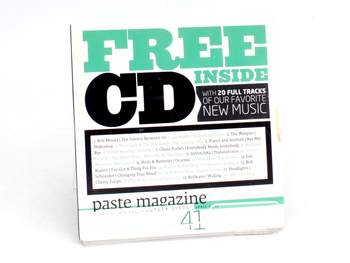 CD New music sampler Paste magazine