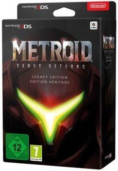 Hra 3DS Metroid: Samus Returns Legacy Edit.