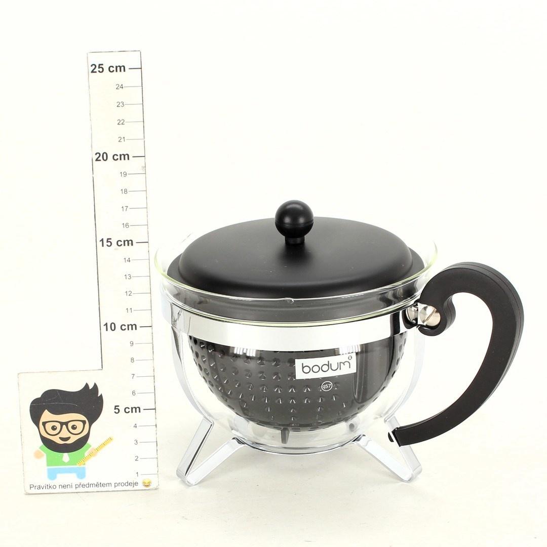 Konvice Bodum Chambord černá na čaj
