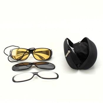 Sluneční brýle souprava vyměnitelné