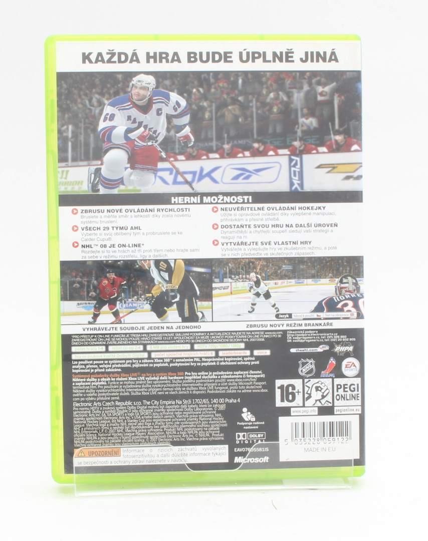 Hra na XBOX 360 - NHL 08