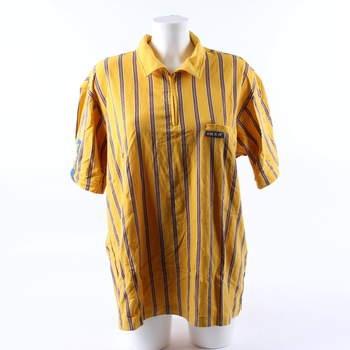 Dámské tričko pracovní IKEA žluto modré df61da9e60