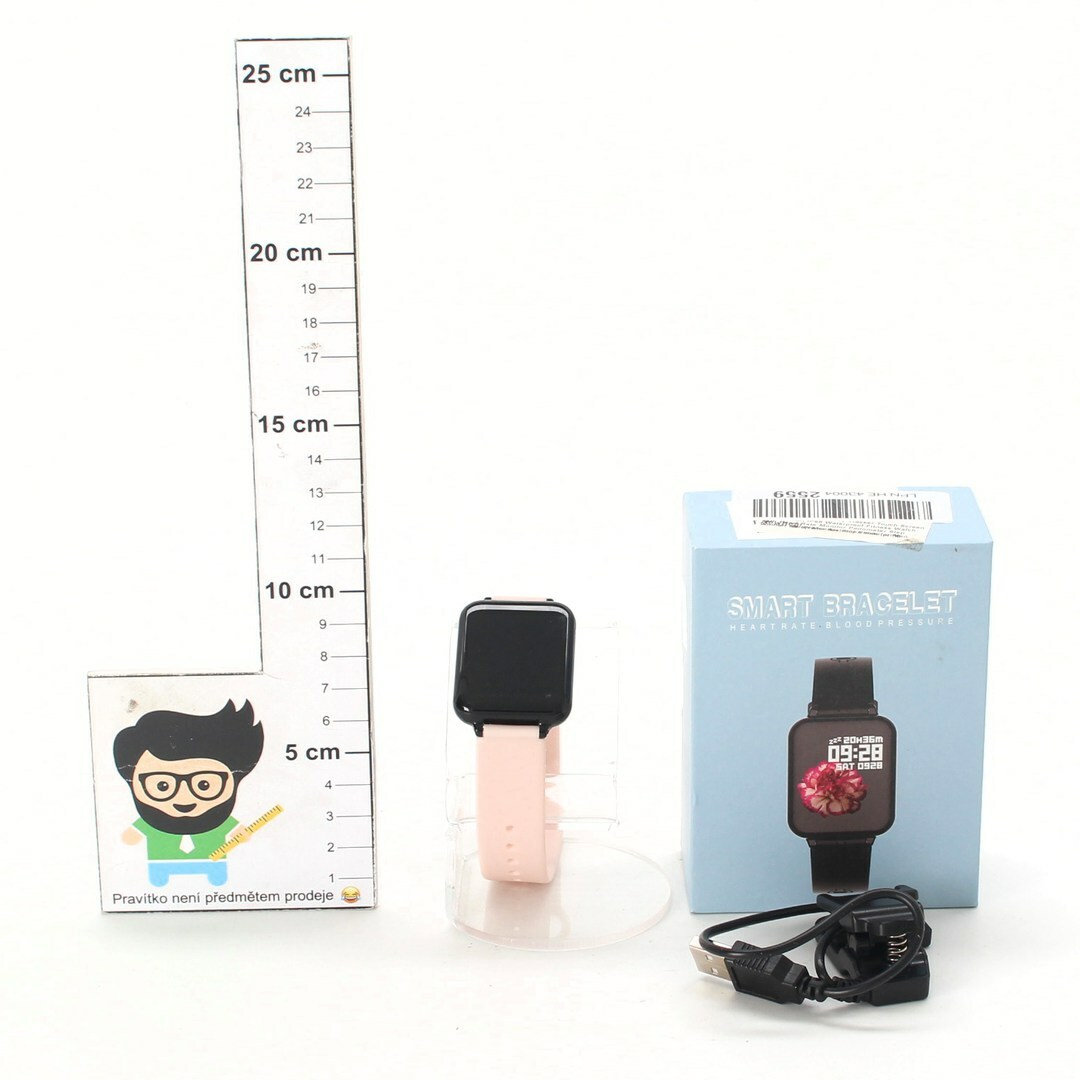 Chytré hodinky Jpantech růžové
