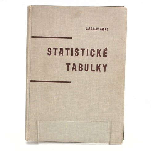 Jaroslav Janko - Statistické tabulky