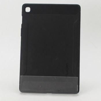 Černý gumový obal na tablet