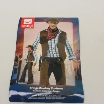 Karnevalový kostým Smiffys Fringe cowboy