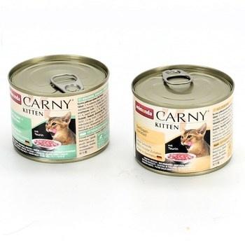 Konzervy pro koťata Animonda Carny 2 x 200 g