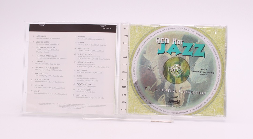 CD Red Hot Jazz The Essential Collection