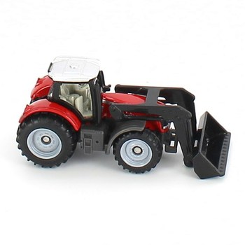 Plastový traktor Siku červený