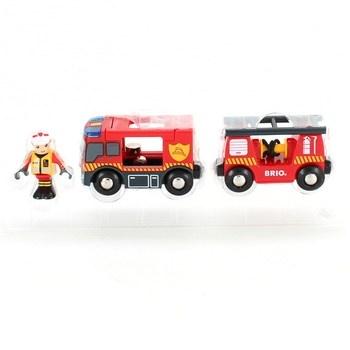 Záchranný hasičský vůz Brio 33811