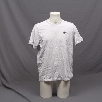 Pánské tričko krátký rukáv Nike bílé