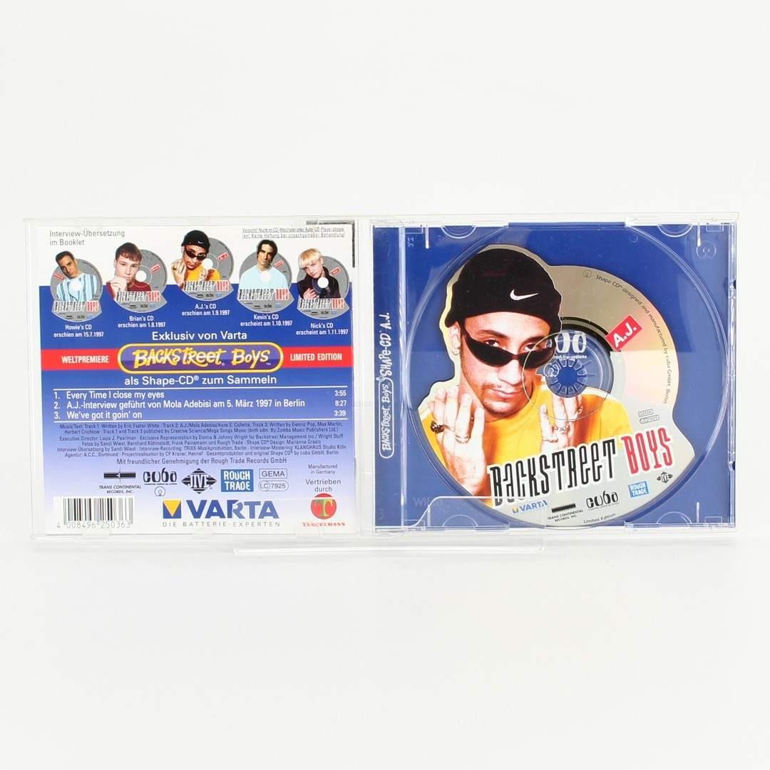 CD Shape-CD mit A.J. Backstreet boys
