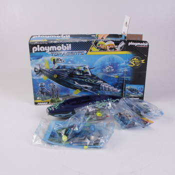 Plavidlo Playmobil Drill Destroyer 70005