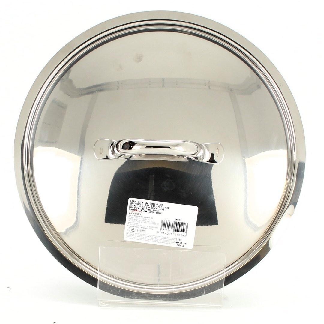 Poklice Lacor 54924 24cm stříbrná