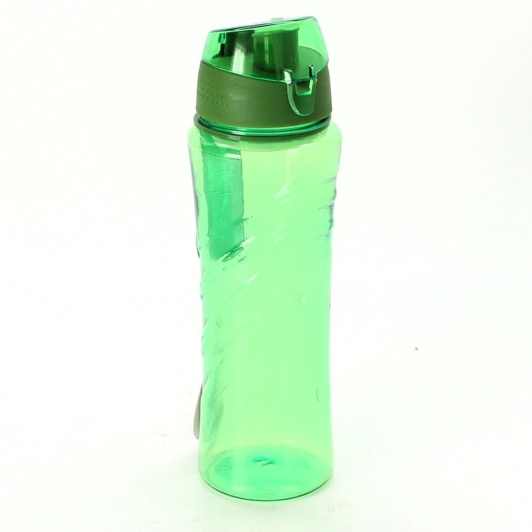 Láhev na pití s poutkem 650 ml zelená