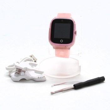 Chytré hodinky On Watch růžové