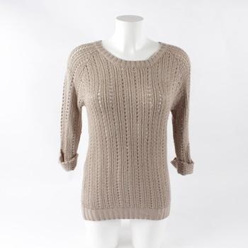 Dámský svetr Jean Pascale béžový 20fdcb4ee8