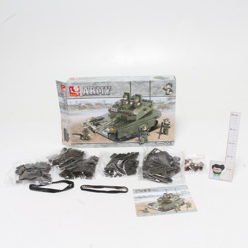 Stavebnice Sluban Army tank M38-B0305