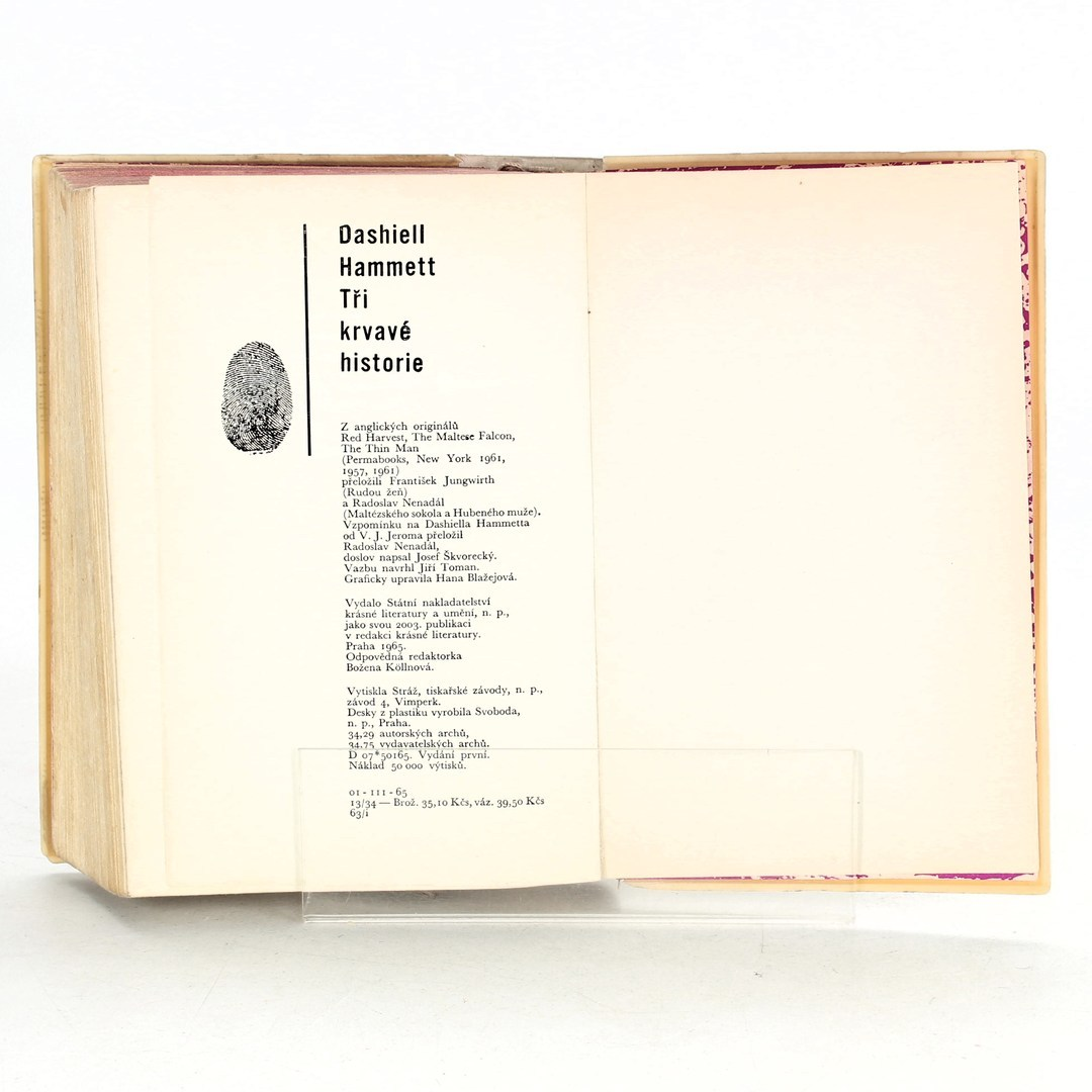 Samuel Dashiell Hammett: 3 krvavé historie