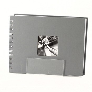 Spirálové fotoalbum Hama 2111 šedé