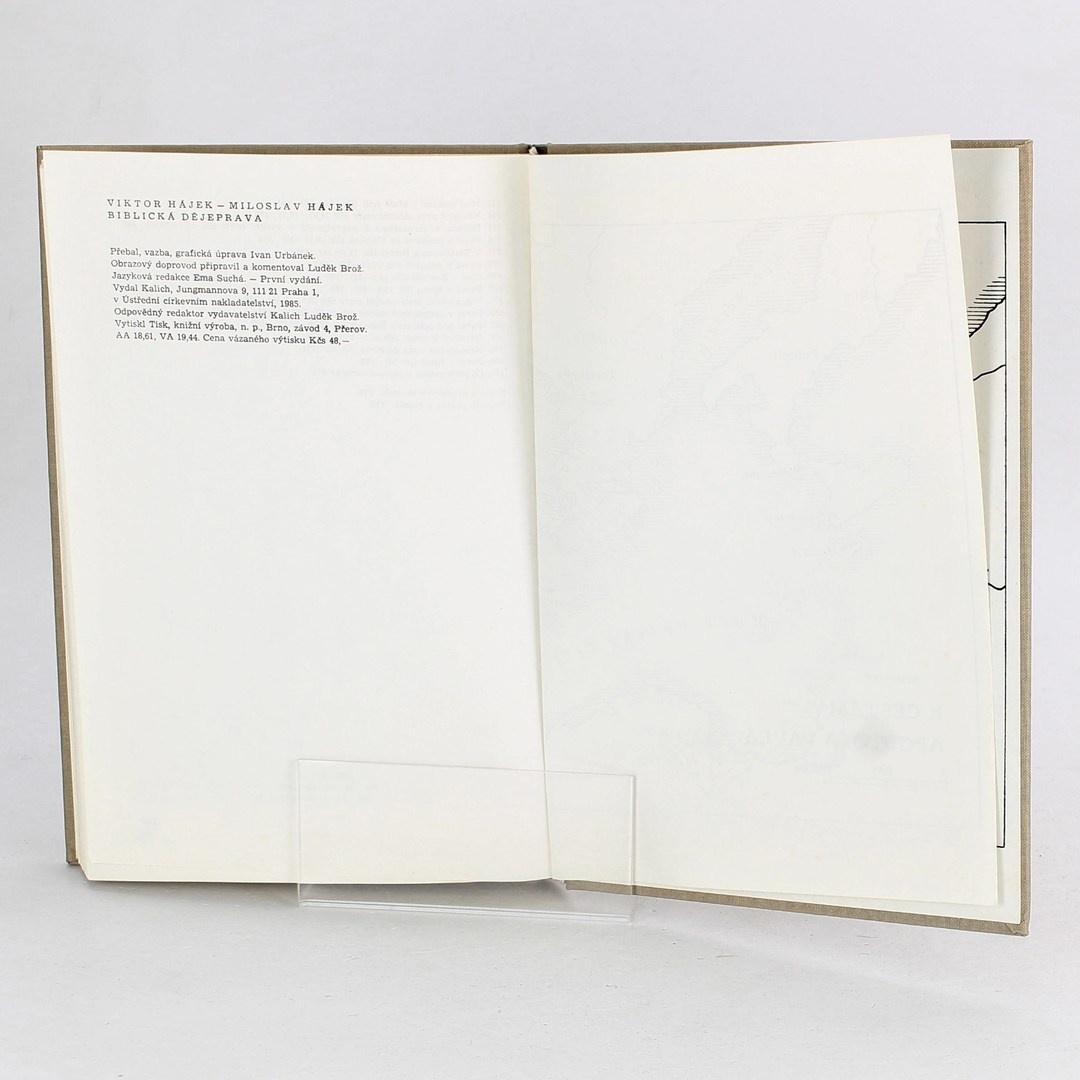 Kniha Viktor Hájek: Biblická dějeprava