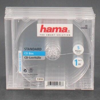 Obal na CD Hama průhledný, 5Ks