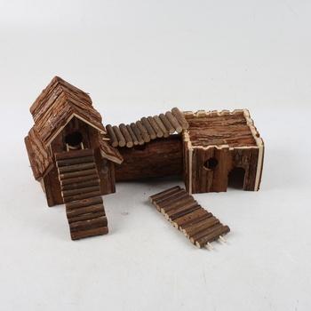 Dřevěný domeček Trixie pro křečky