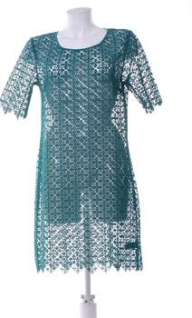 Dámské krajkové šaty Next zelené