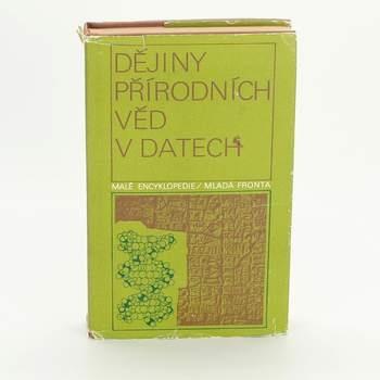Kniha Dějiny přírodních věd v datech