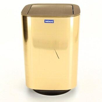 Odpadkový koš Wenko Auron Gold