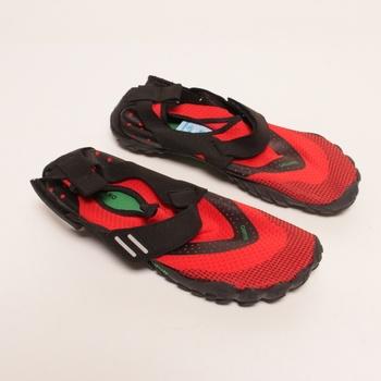 Prstové boty Saguaro červené