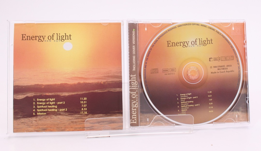 CD: Energy of light - New Age