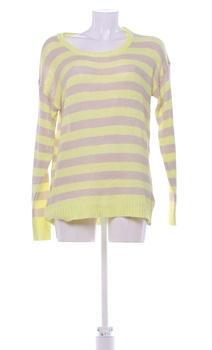 Dámský svetr Janina béžovo-žlutý