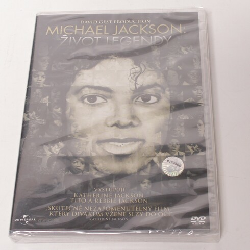 DVD film Michael Jackson: Život legendy
