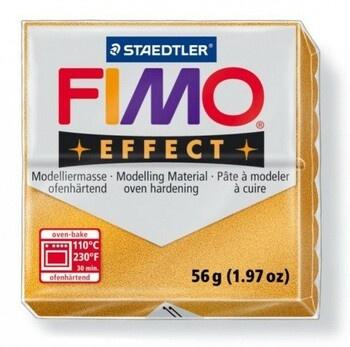 Modelovací hmota FIMO effect metalická zlatá