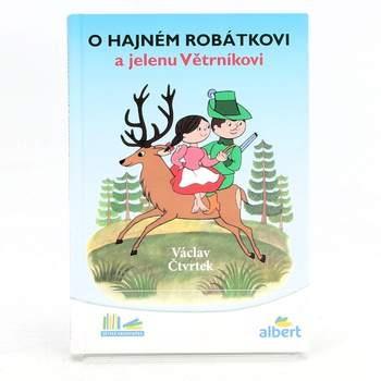 Kniha Václav Čtvrtek: O hajném Robátkovi