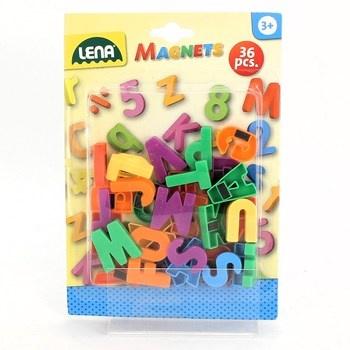 Magnetky Lena 65745 písmena