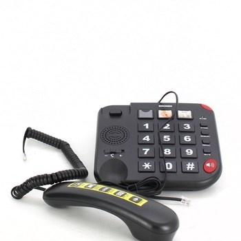 Klasický pevný telefon Brondi Bravo 15