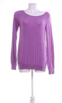 Dámské volné tričko JTX fialové