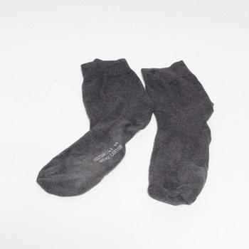 Pánské bavlněné ponožky Hudson 004400 šedé