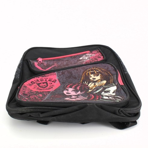 Dětský batoh Monster High černý